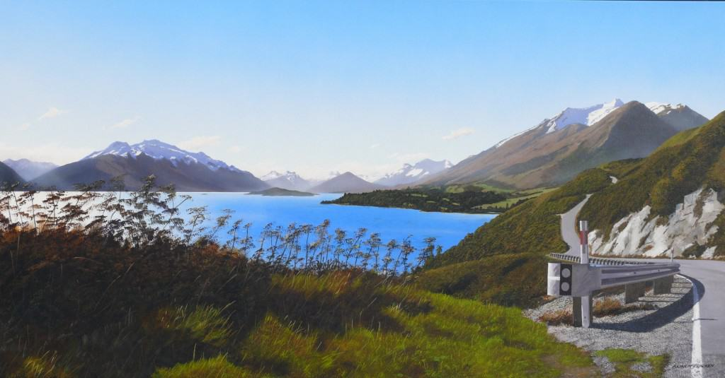Afternoon across Lake Wakatipu