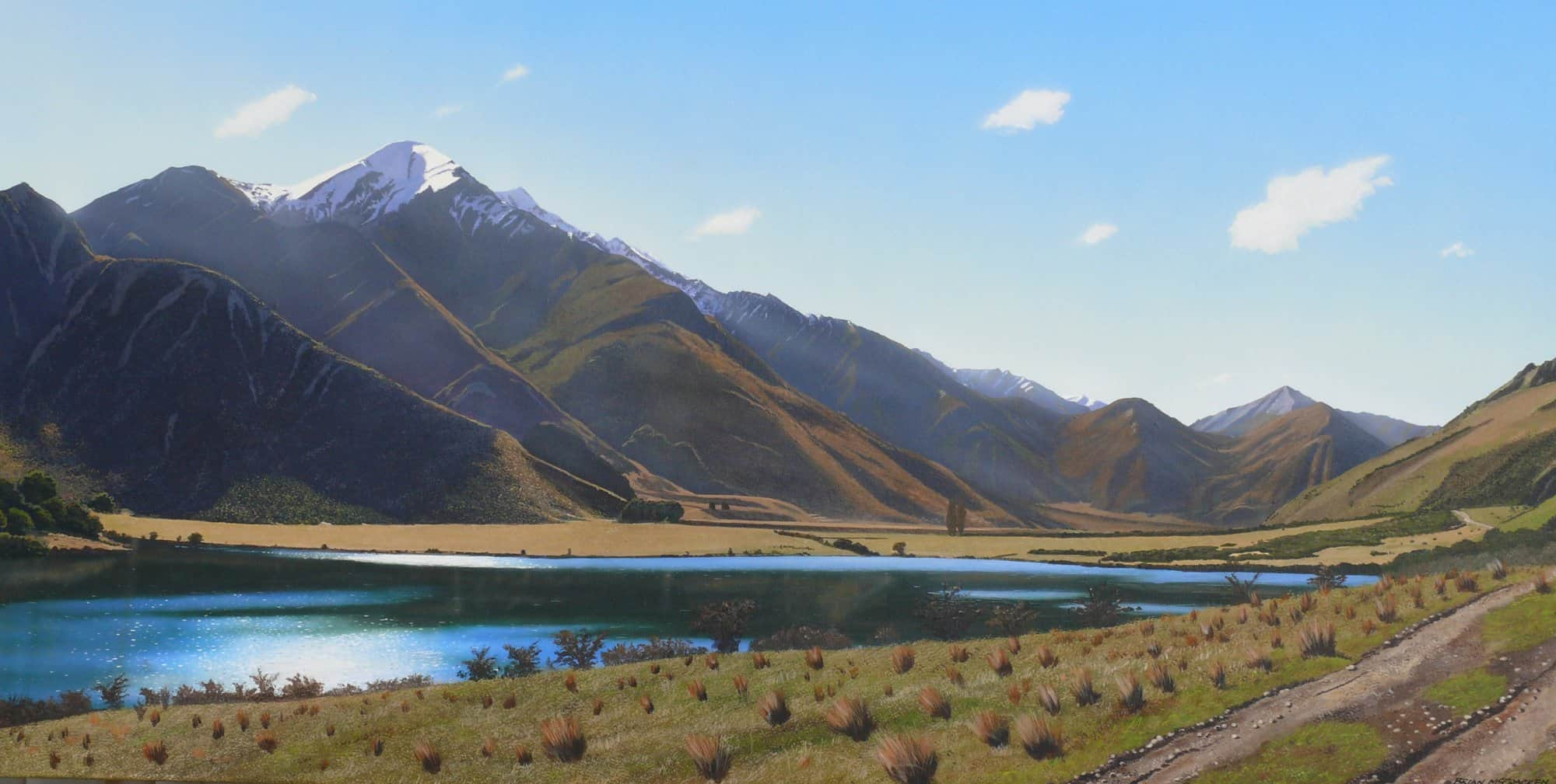 Afternoon at Lake Moke (near Queenstown