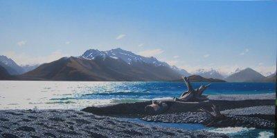 Early Spring Lake Wakatipu