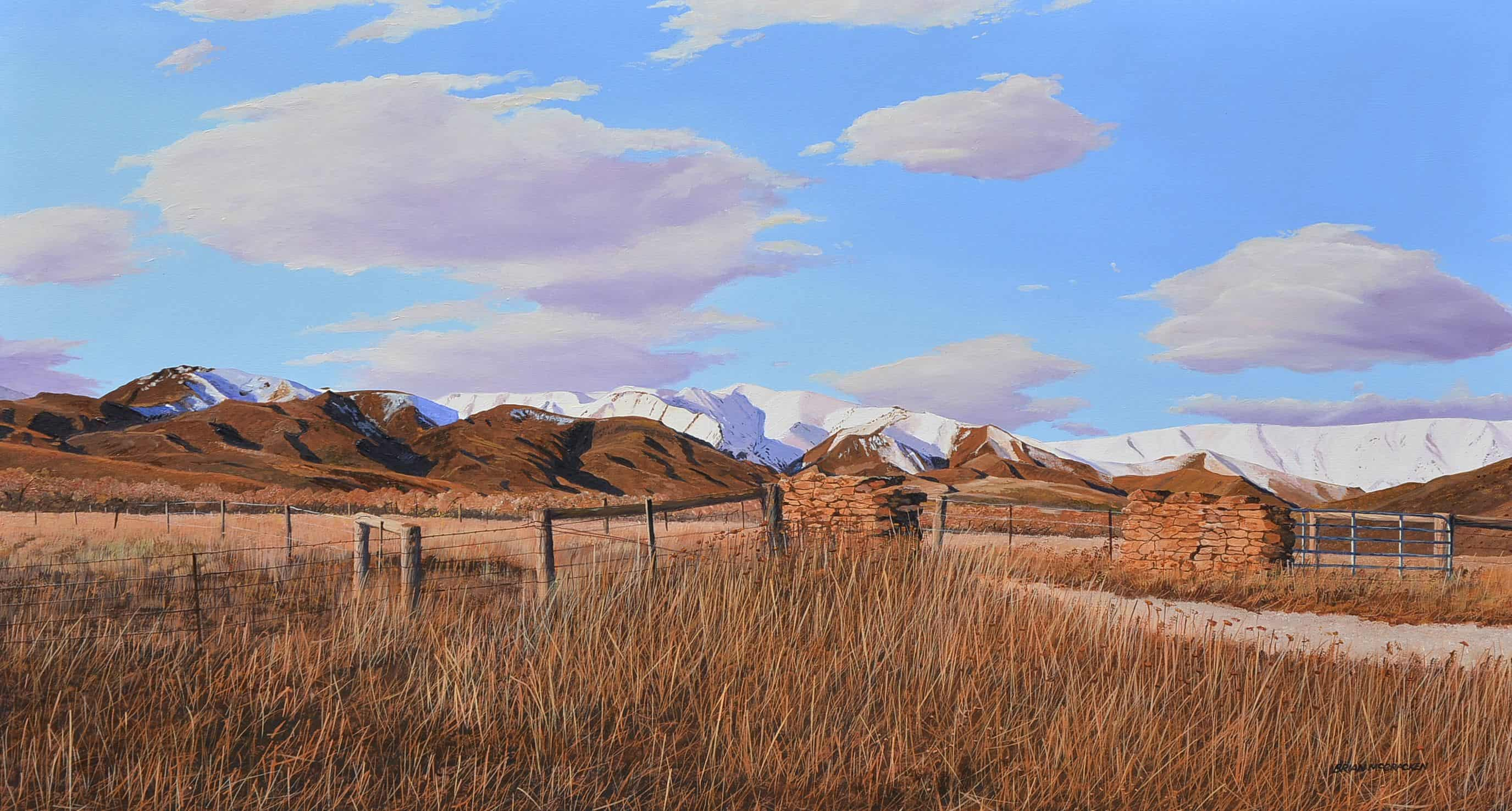 Otago Landscape, Near Tarras - Web