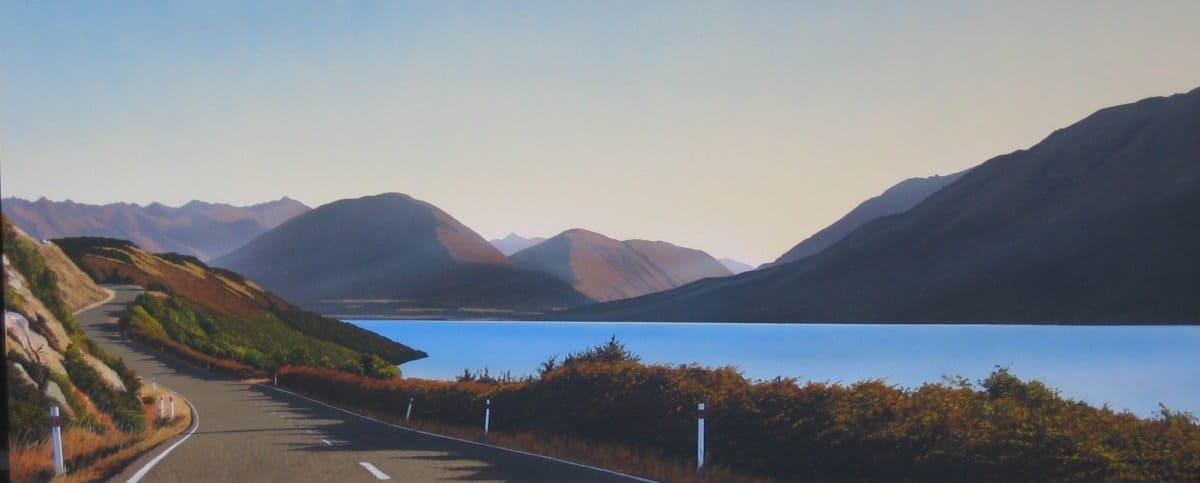 Summer Evening on Lake Wakatipu