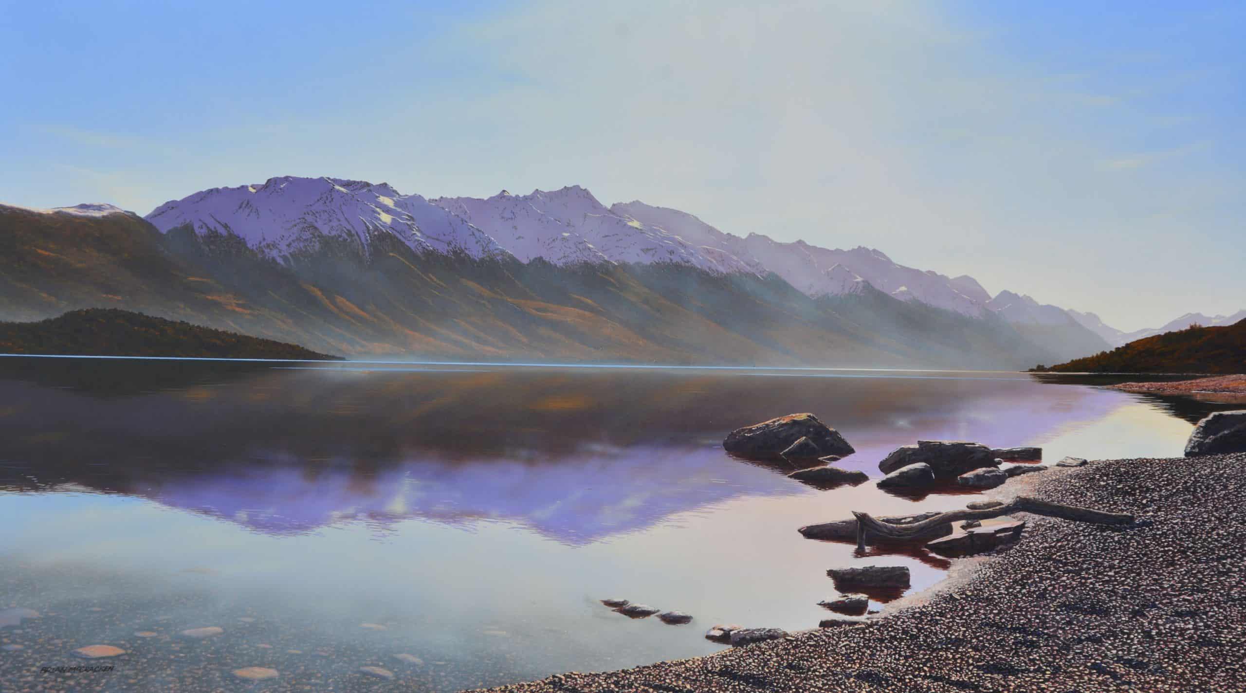 Dead Calm Lake Wakatipu