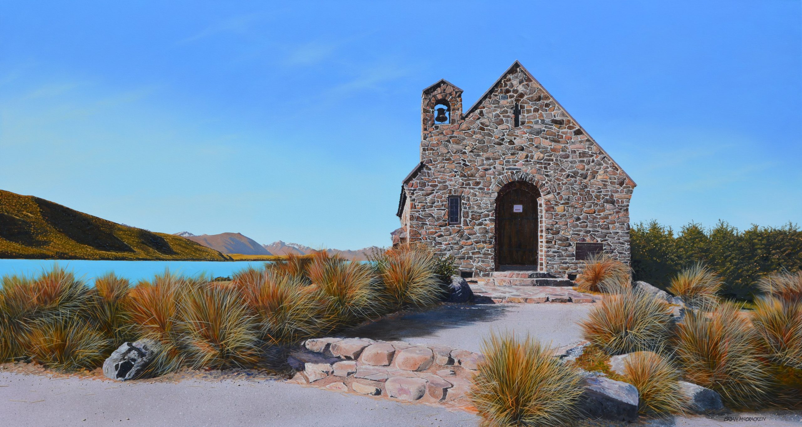 'Evensong' Church of the Good Shepherd, Lake Tekapo